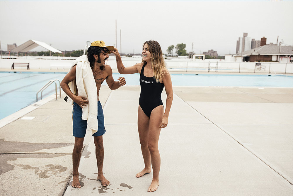 Quicksilver Launches First Womens Street And Swimwear Collection
