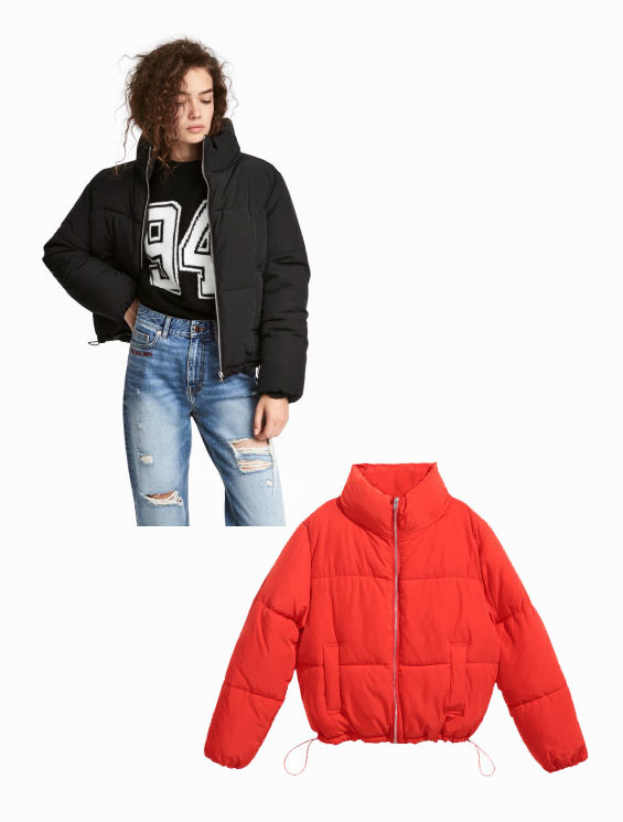 4596ffaeb5f1 Have you been steering clear of this season s it-jacket for fear of  over-inflated proportions  This form-fitting cropped puffer jacket would  have a hard ...