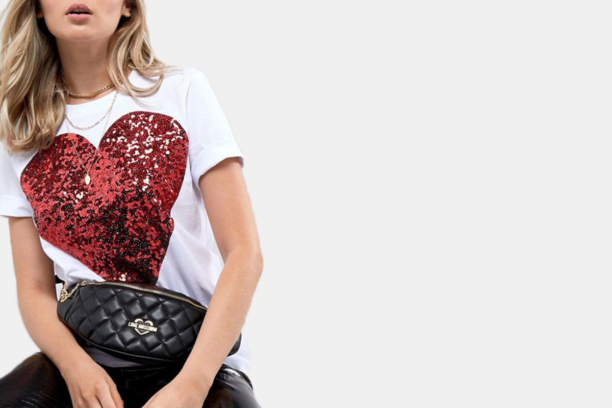 44ee40d3bd9d If you like your fanny packs like your Starbucks – much more expensive than  what s actually inside – then you ll love this Moschino number. Its quilted  ...