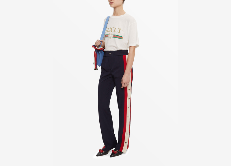 Especially trending among the cool kids of Instagram the tracksuit pant with side poppers are no longer stereotyped as an off-duty outfit but are low key ... & The Tear Away Pant: Evergreen Or Fad? The Tear Away Pant: Evergreen ...