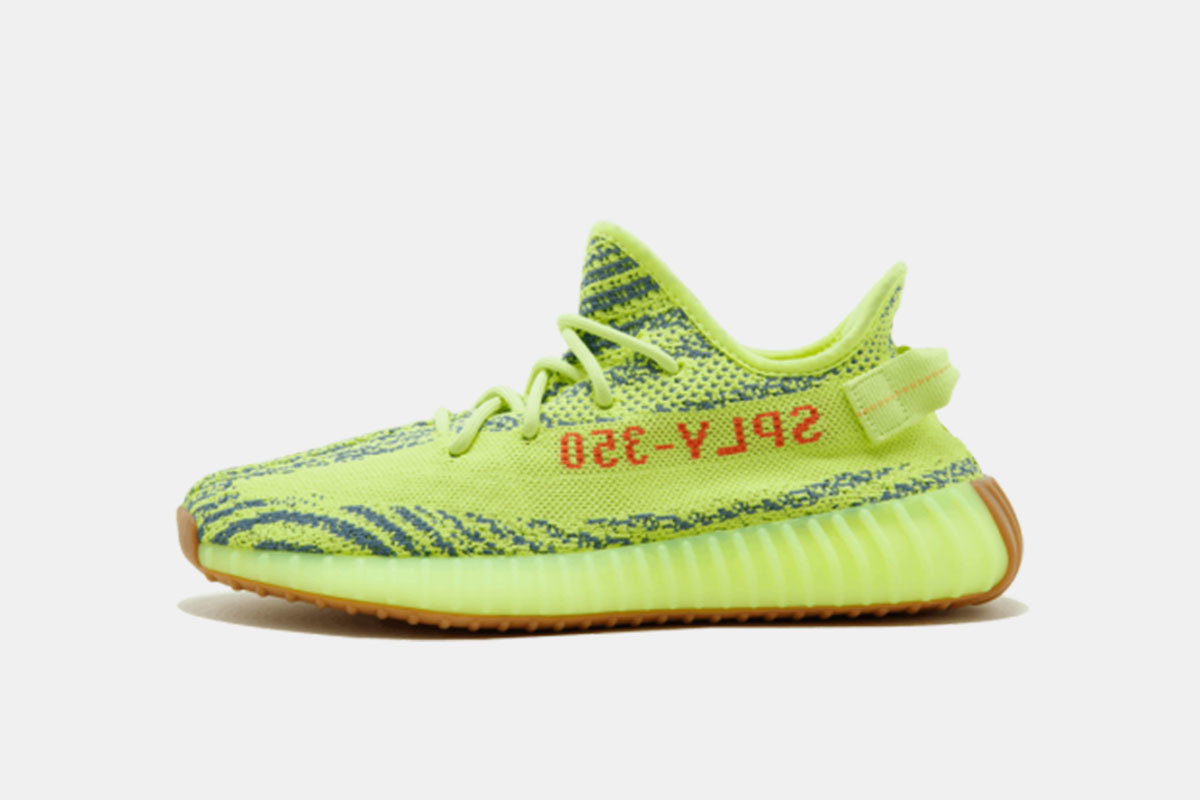 d6eb03dd99bb8 These bright and bold Kanye West adidas kicks are expected to be released  on the 14th of December for  220. Head over to bstn.com to cop a pair or  take a ...