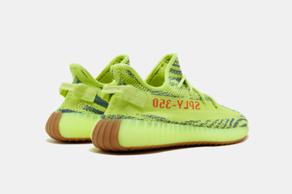 907976582 Unboxing The Yeezy Boost 350 V2 Semi Frozen Yellow Yeezy Boost 350 ...