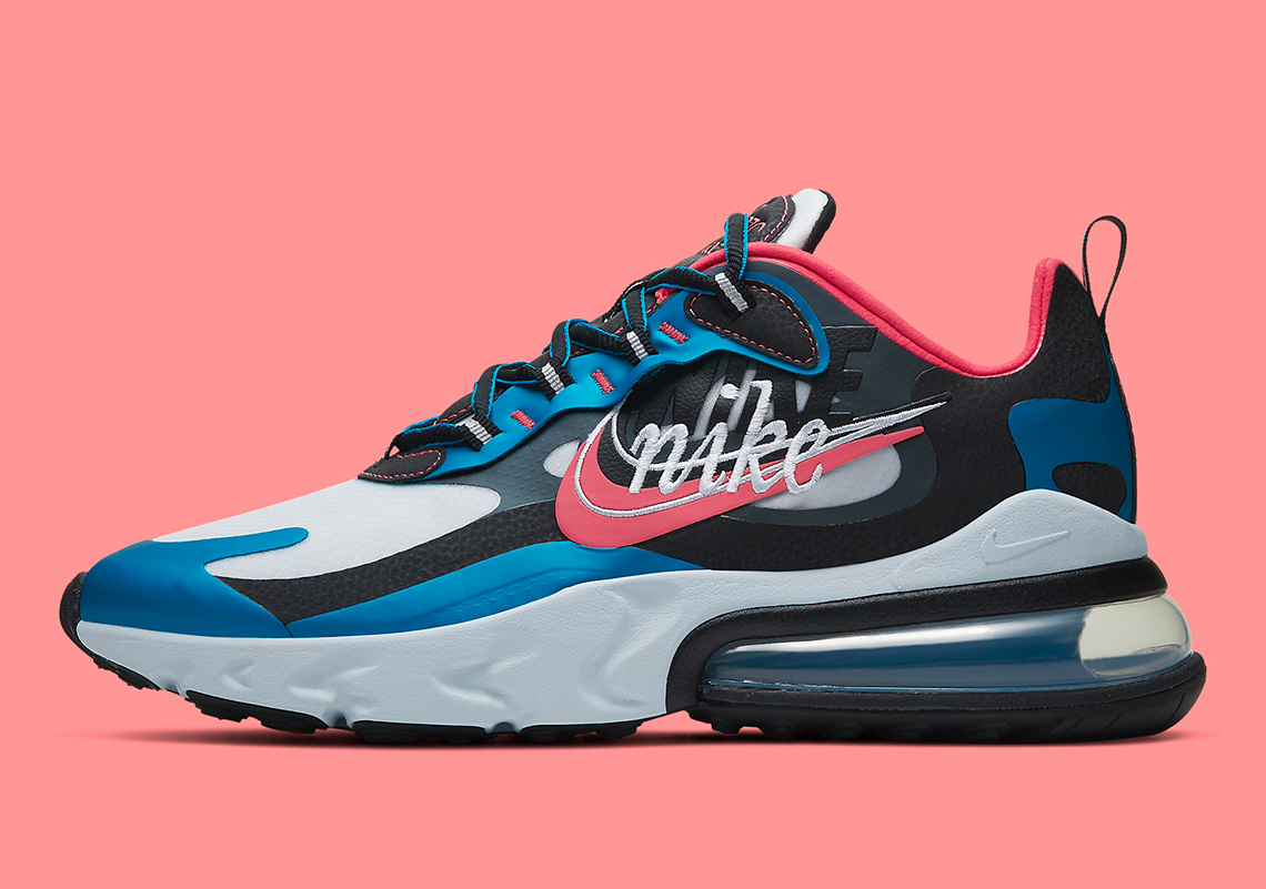 Nike To Release Air Max 270 React Script Swoosh All The Release